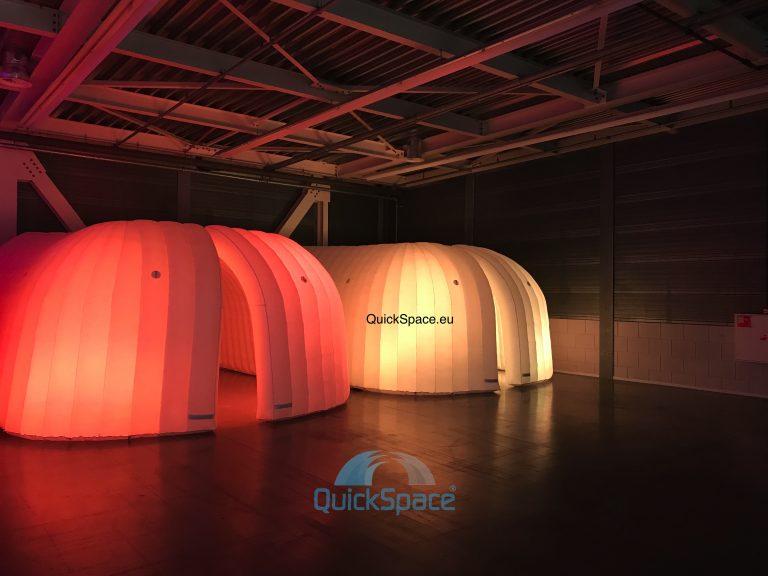 QuickSpace Office Domes World Fashion Center 2